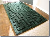 hedge maze rug