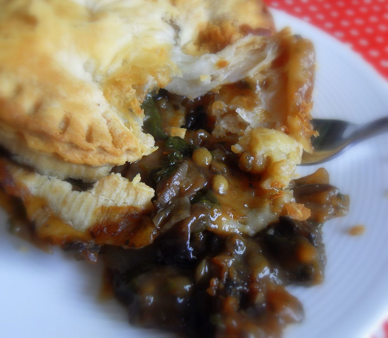 The English Kitchen: Vegetarian Mushroom & Ale Pies to die for
