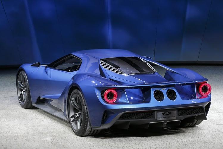 Ford Debuts Super Car - WSJ