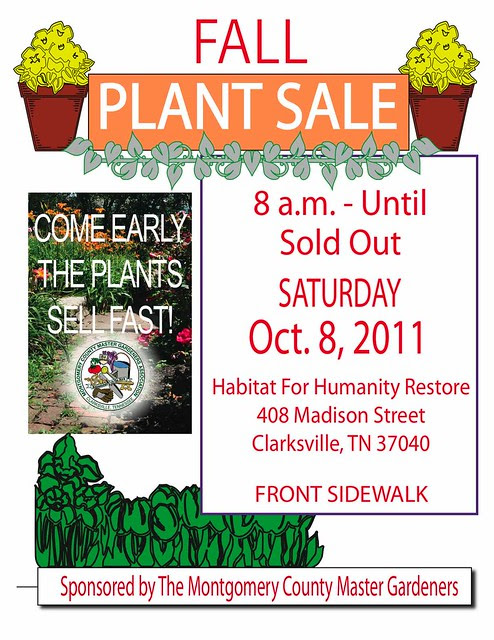 Fall Plant Sale Sign [Converted]