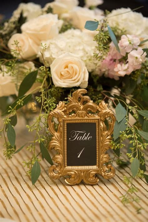 1000  images about Table numbers on Pinterest   Wedding