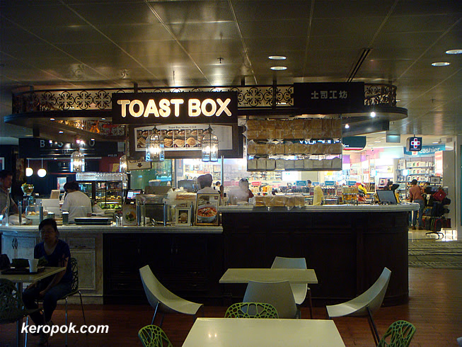 Toast Box at Changi Airport Terminal 3 Departure