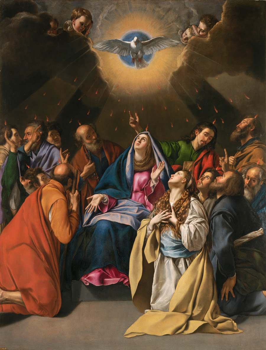 Maino Pentecostes 1620-1625