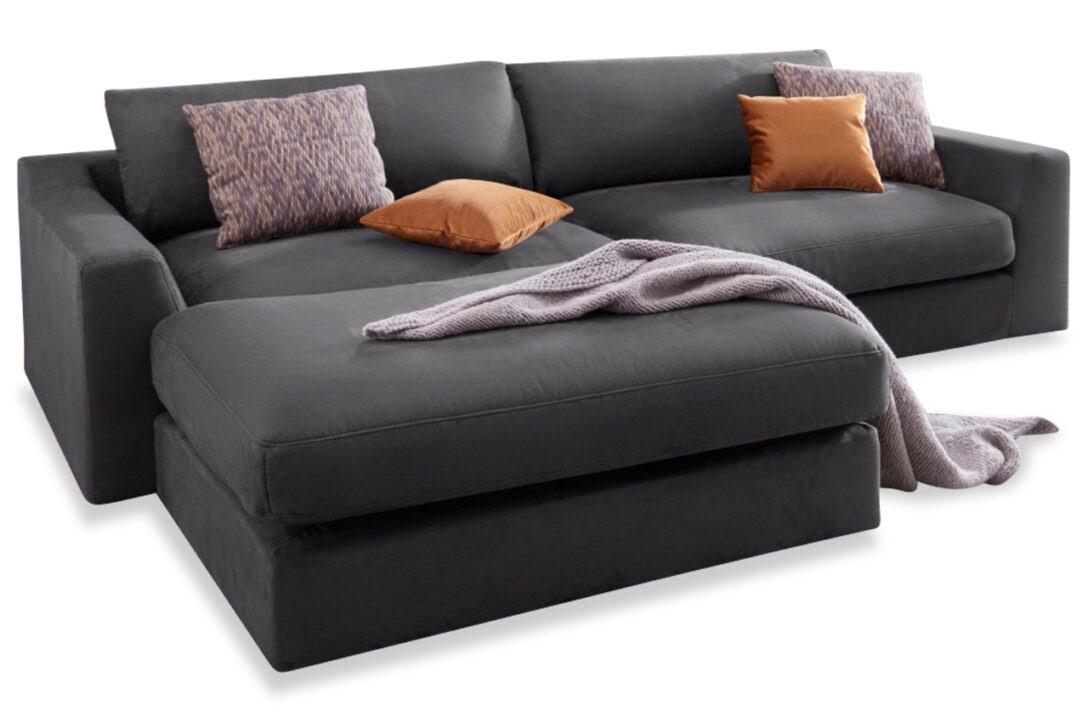 L Form Sofa Vidaxl In Mit Ablageflche Aus Holz Stoff Braun ...
