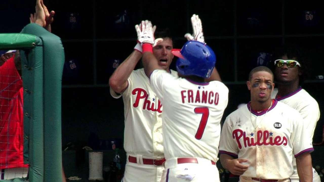 Franco ha sorprendido desde su llamado a Filis
