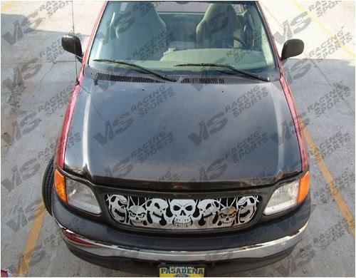 Hoods: VIS 97-03 Ford F150/Lightning 2D Carbon Fiber Hood OEM