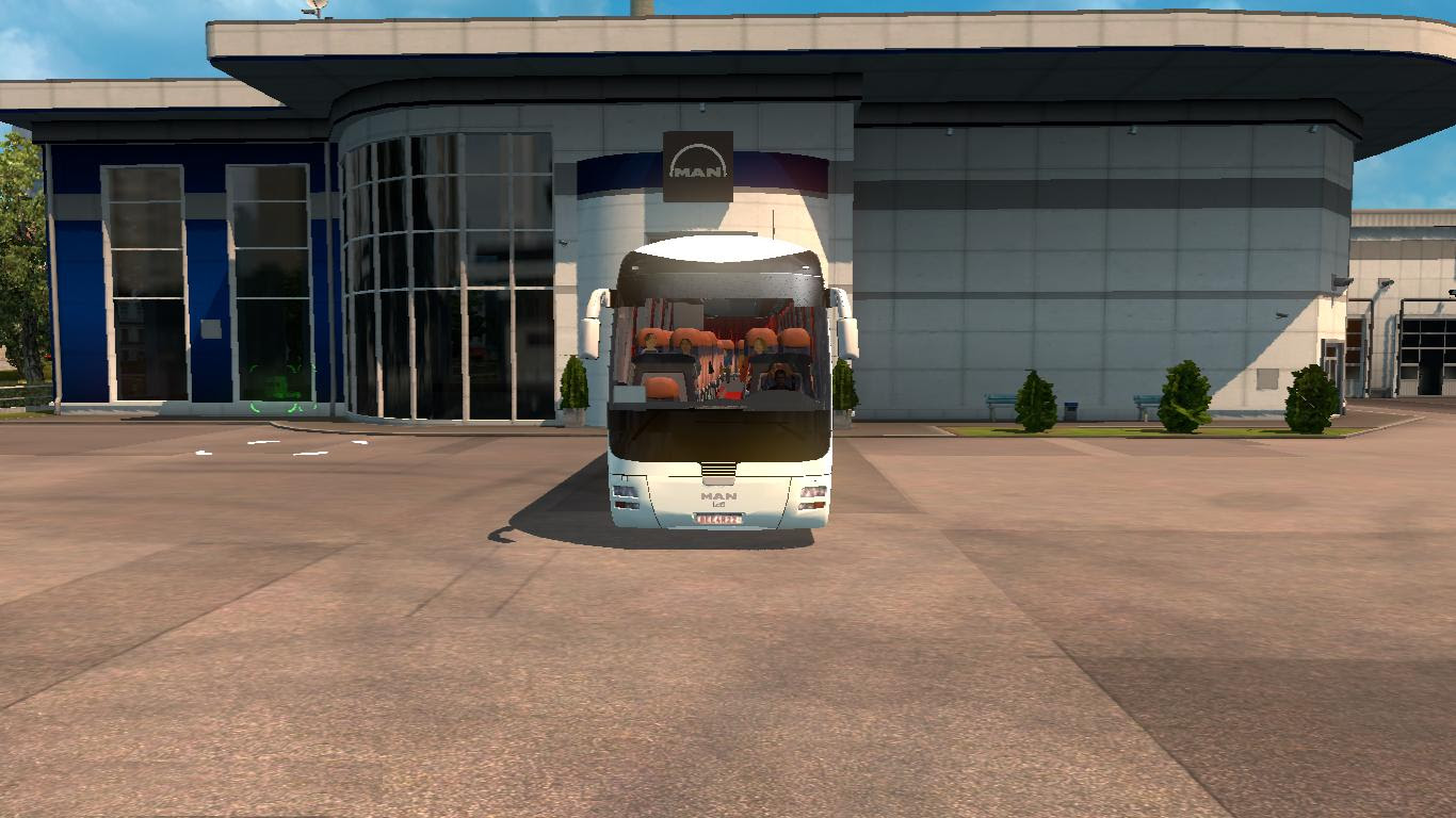 Man Lion Coach For Ets Bus Mod Ets2 Mod