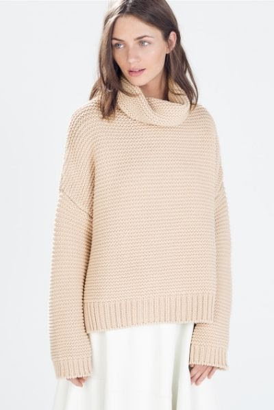 Zara High Neck Sweater