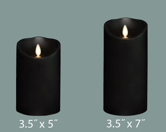 Liown - Moving Flame - Flameless LED Candle - Indoor ...