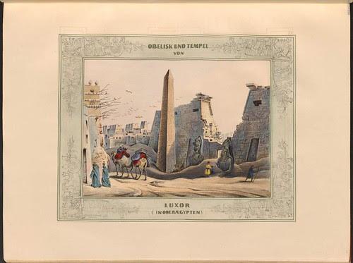 Picturesque views of the orient Heinrich von Mayr, 1839 - Luxor