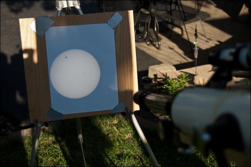 Transit of Venus Projection