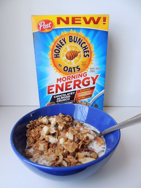 Honey Bunches of Oats Morning Energy #MorningEnergy