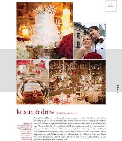 The Knot NC Biltmore Estate Wedding