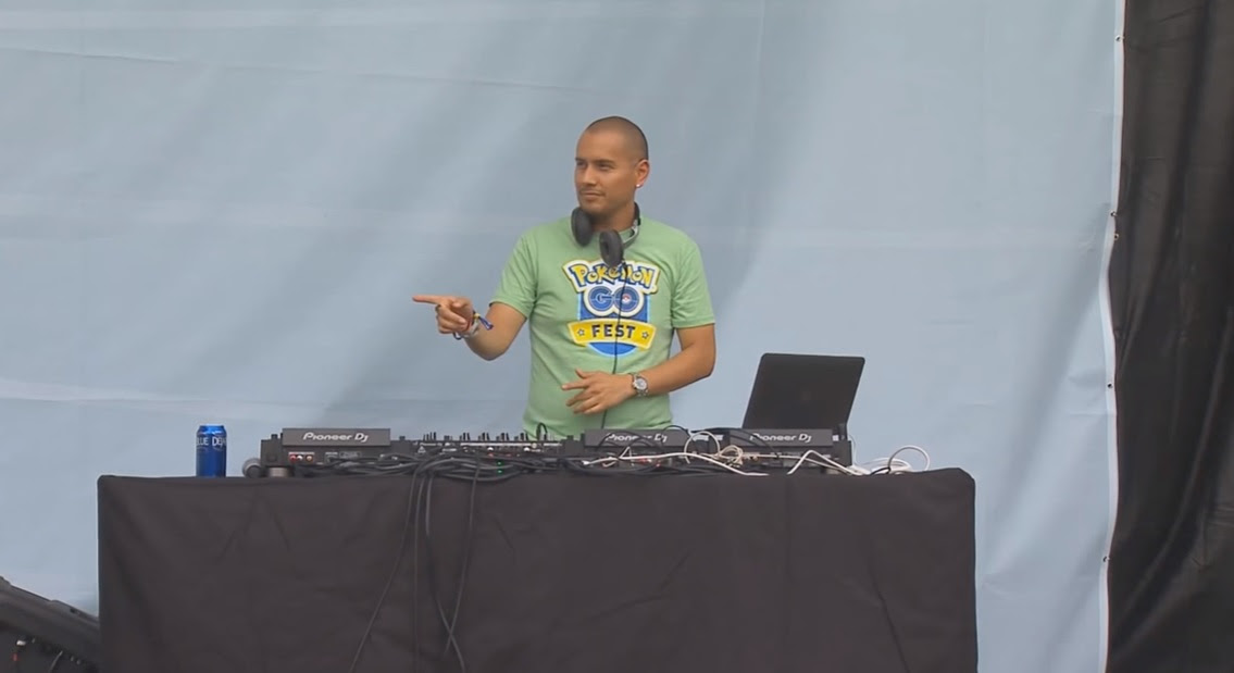 DJ Echo's deep cuts might be the only good part of Pokemon Go Fest screenshot
