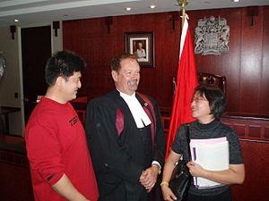 English: Oath of citizenship ceremony