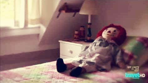 Raggedy Ann muñeca del diablo