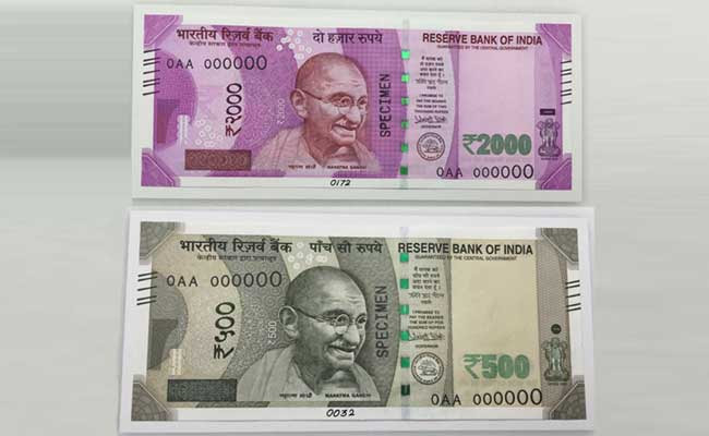 New 500 And 2,000 Rupee Notes That Will Be Issued