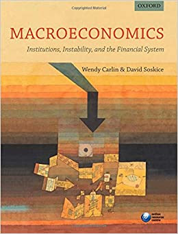 Macroeconomics Institutions Instability And The Financial System