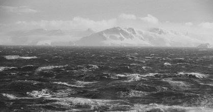 Costa de la Isla Brabante, en la Antártida.