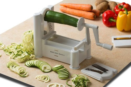 THE BEST KITCHEN GADGET: TRI-BLADE TURNING VEGETABLE SLICER