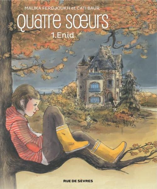 Couverture Quatre soeurs (BD), tome 1 : Enid