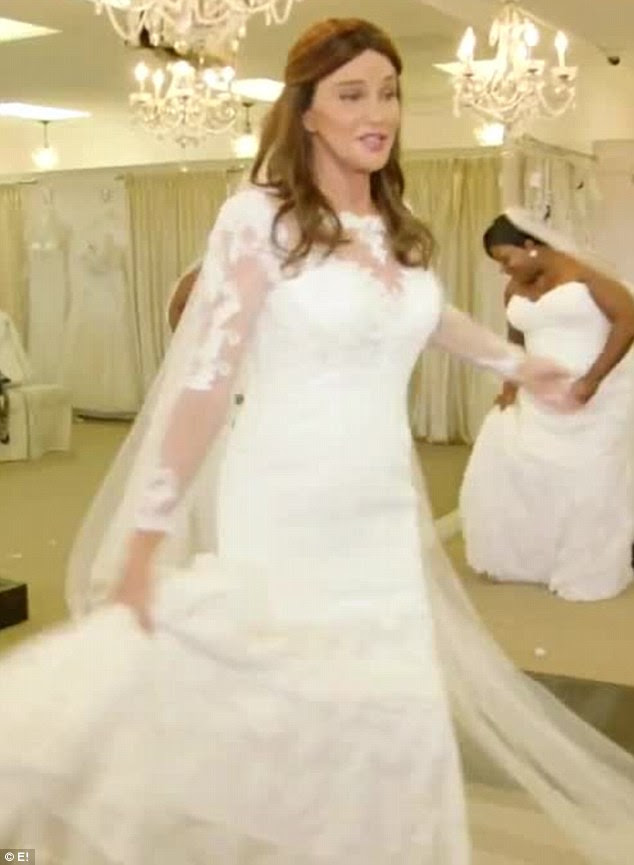 Here comes the bride?In the premiere episode of season two of I Am Cait, Caitlyn Jenner gets a chance to try on wedding dresses, as was seen in a teaser shared by People on Friday