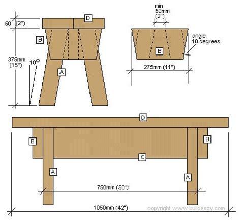 simple garden stool   diy wooden