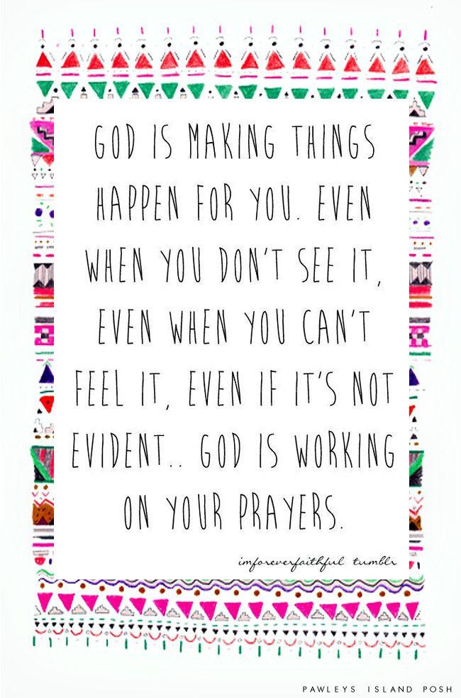 God is amazing.