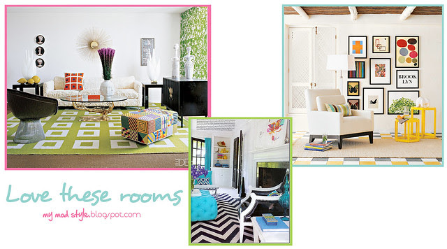 love these rooms