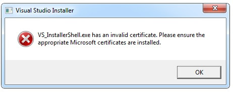 error de windows 7 certificado no válido