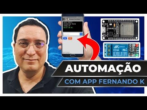 Automação com APP Fernando K