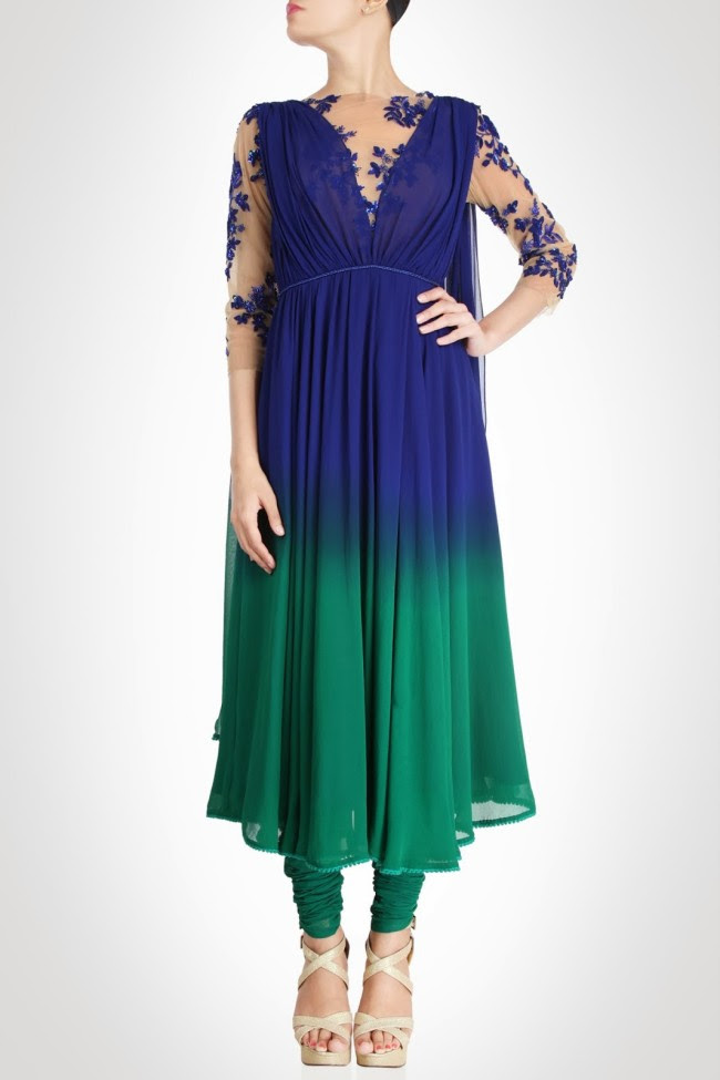 Beautiful-Bridal-Wedding-Lehanga-Choli-Saree-Anarkali-Churidar-New-Fashion-Dress-by-Designer-Surily-Goel-8