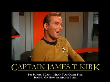 With a name like Kirk...