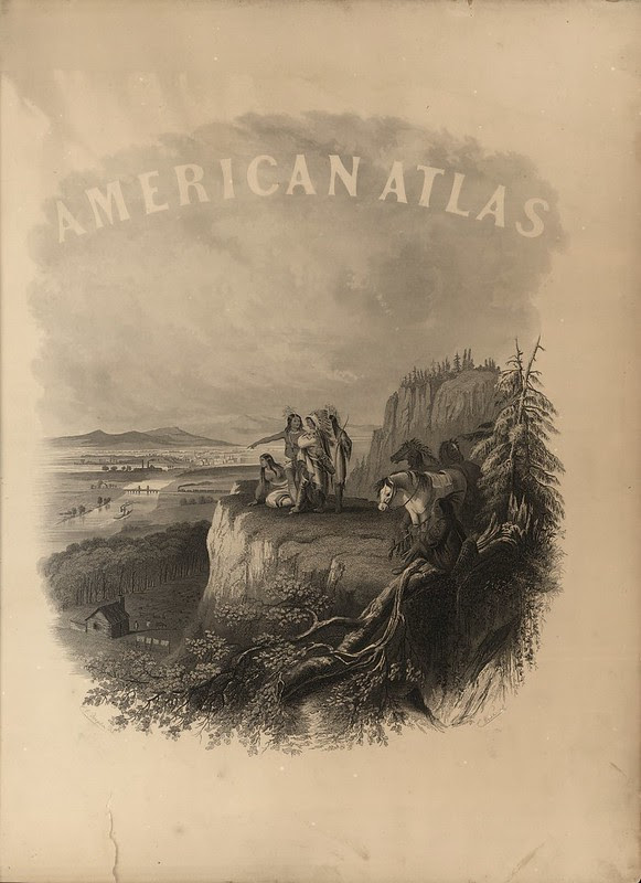 Johnson's New Illustrated (Steel Plate) Family Atlas 1864