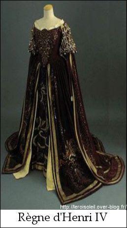 Costume Féminin Sous Louis Xiv Louis Le Roi Soleil