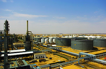 Sudan oil refinery where the newly-emerging oil-rich central African state has been under fire from U.S. imperialism for years. The leadership of the country is being hounded by the ICC which it is not a party to the Rome Statute. by Pan-African News Wire File Photos