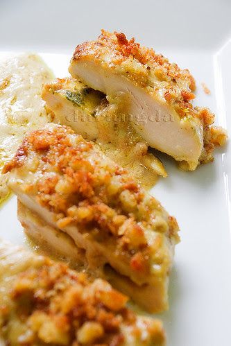 pechuguitas de pollo con foie