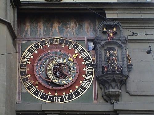 Relógio da torre medieval Zytglogge