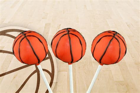 Basketball Cake Pops   CANDIQUIK