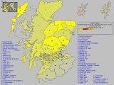 Forecast for Scotland