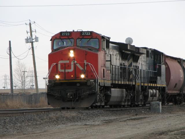 IC 2723 in Winnipeg