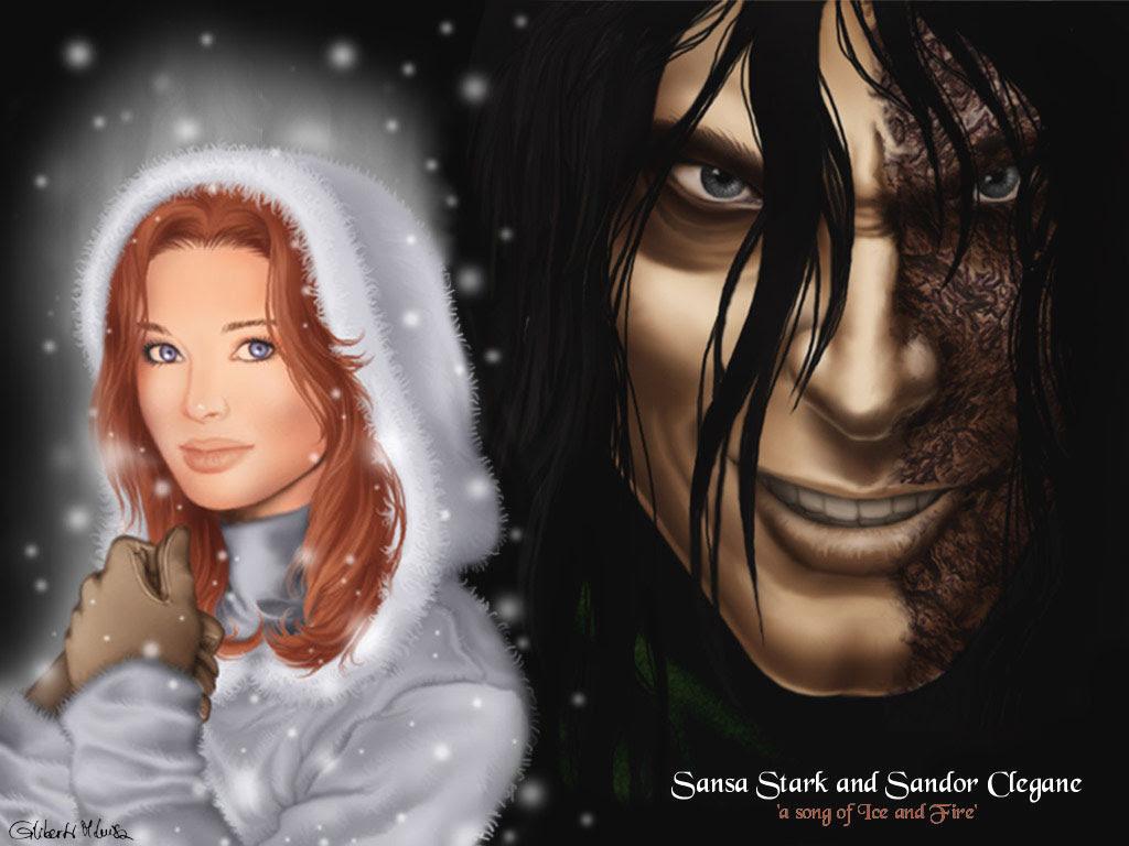 Sandor Clegane Sansa Stark As Cronicas De Gelo E Fogo