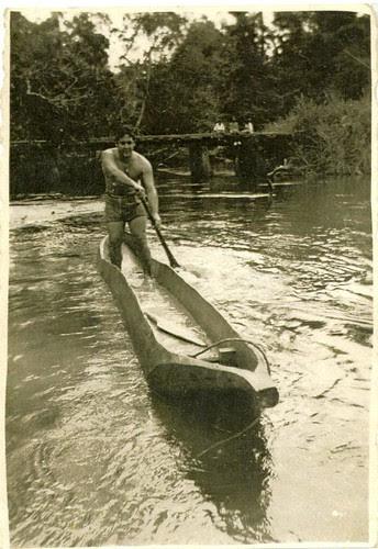 O meu avô remando