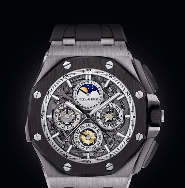 Icemagazine audemars piguet grande complication royal oak for 6 salon in royal oak