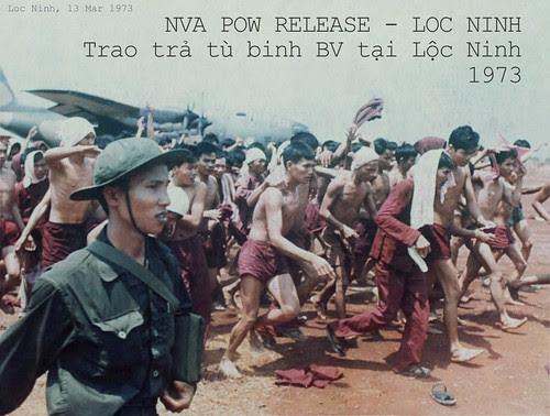 Trao trả tù binh ở Lộc Ninh