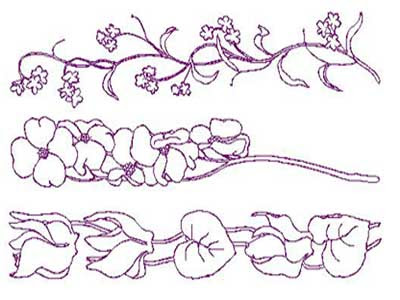 flower clip art borders. flower clip art borders.