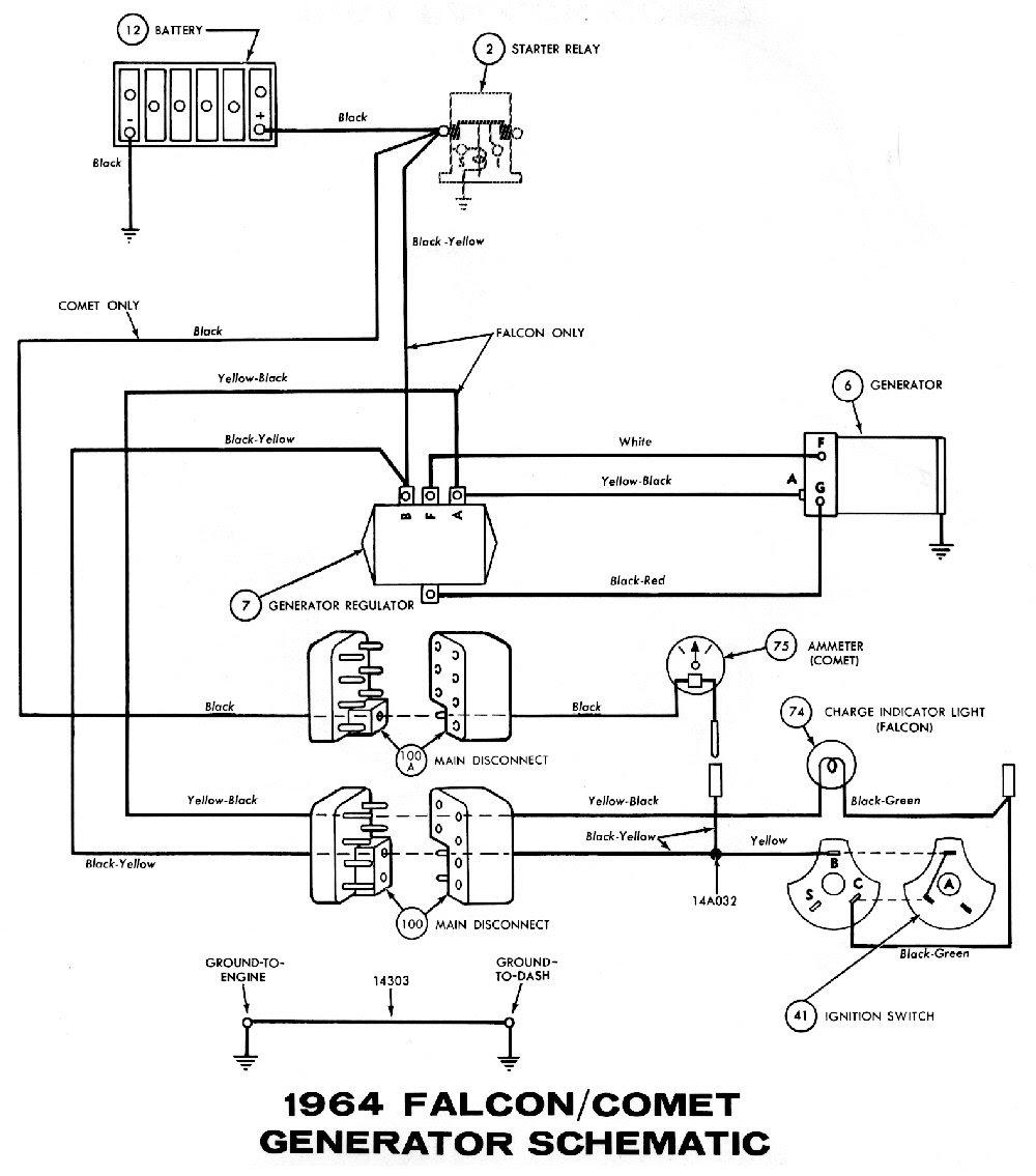 67 Mustang Engine Wiring Diagram