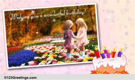 B'day Wish For Your Sister! Free For Brother & Sister