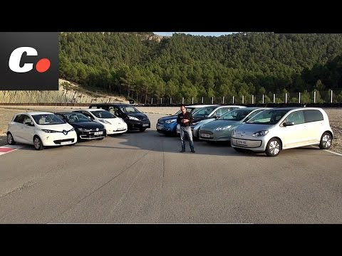 Comparison of electric cars: (Сравнение электрических автомобилей): Nissan Leaf, KIA Soul EV, BMW i3, Renault Zoe, Volkswagen e-up!, Volkswagen e-Golf, Ford Focus и Nissan e-NV200