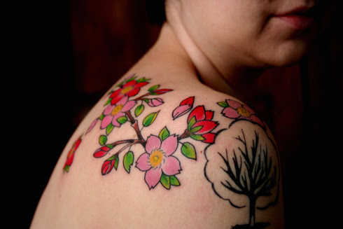 Tattoo inks come in nearly unlimited variations, the most popular being red,